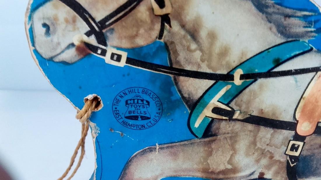 N.N. Hill Brass Co. Riding Horse Pull Toy - 3