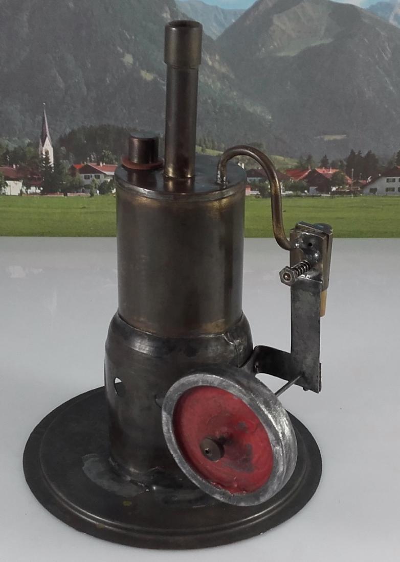Unknown Height 20 cm - Standing steam engine. - 3