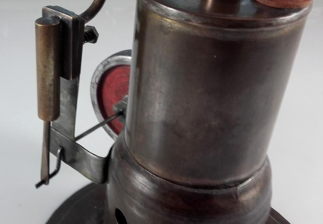 Unknown Height 20 cm - Standing steam engine. - 7