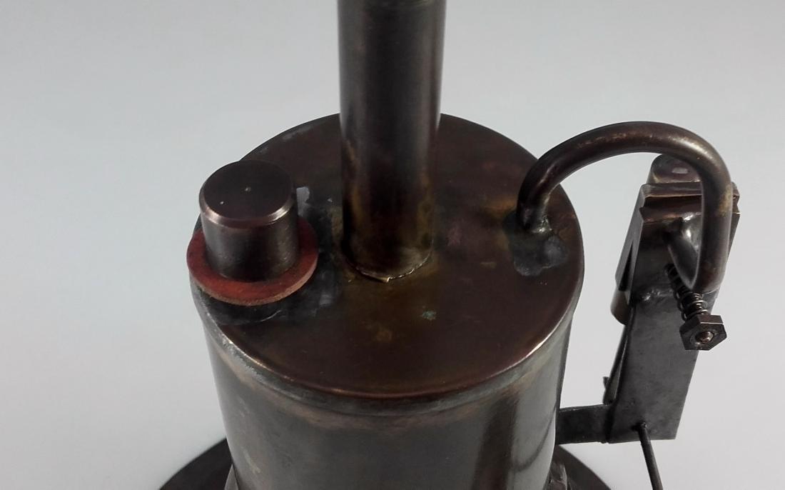 Unknown Height 20 cm - Standing steam engine. - 9