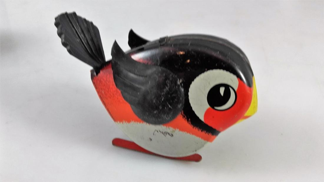 Lehmann 941, 942, 943, 944 – Four pecking birds - 3