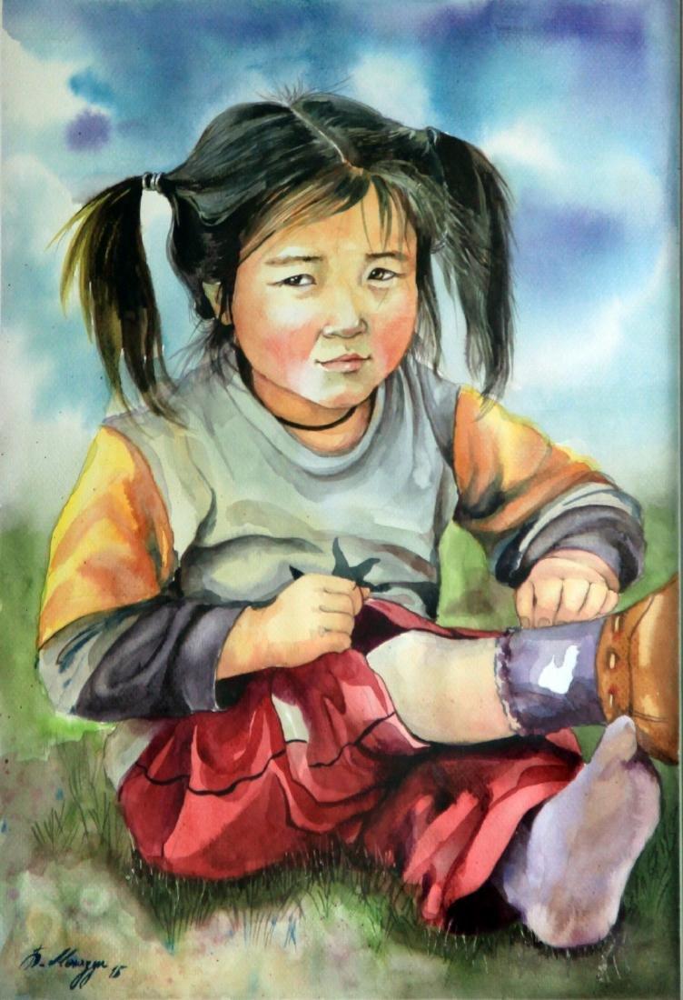 Zulaa - Horse Racing Child