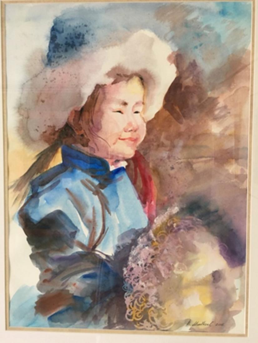Zulaa - Mongolian Girl