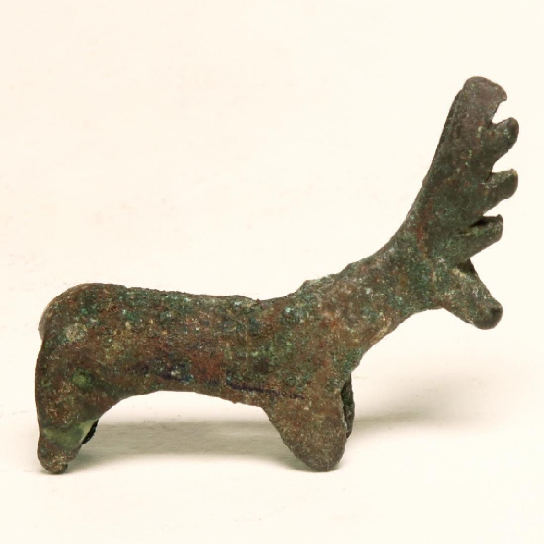 Anatolian Bronze Stag, c. 1000 BC