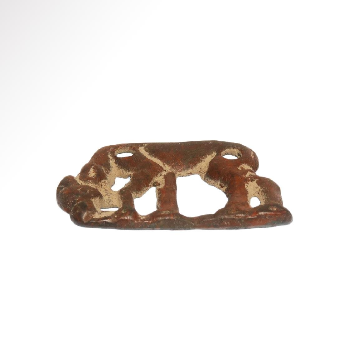 Scythian Openwork Plaque With Grazing Stag, c. 5th - - 3