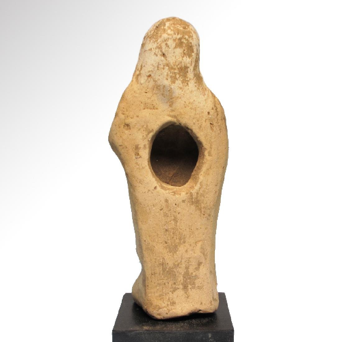 Greek Terracotta Figure of Mother Goddess and Baby, - 5