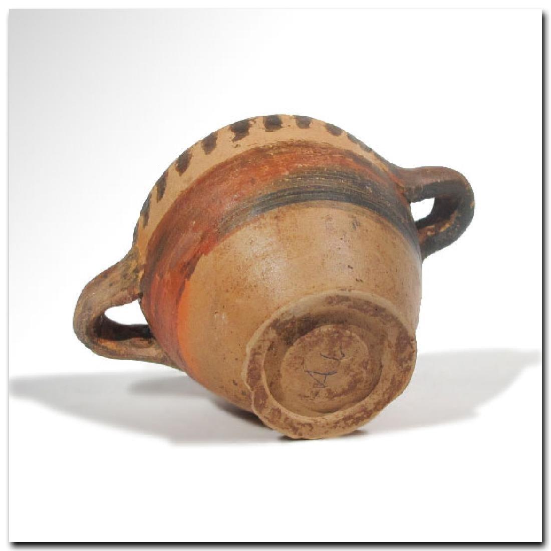 Greek Corinthian Miniature Skyphos, c. 600 B.C. - 6