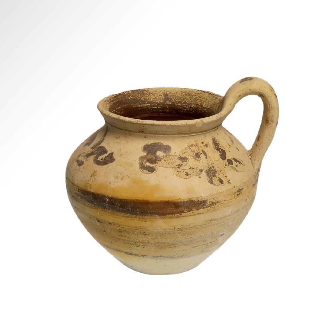Greek Daunian Jug, c. 4th century B.C.
