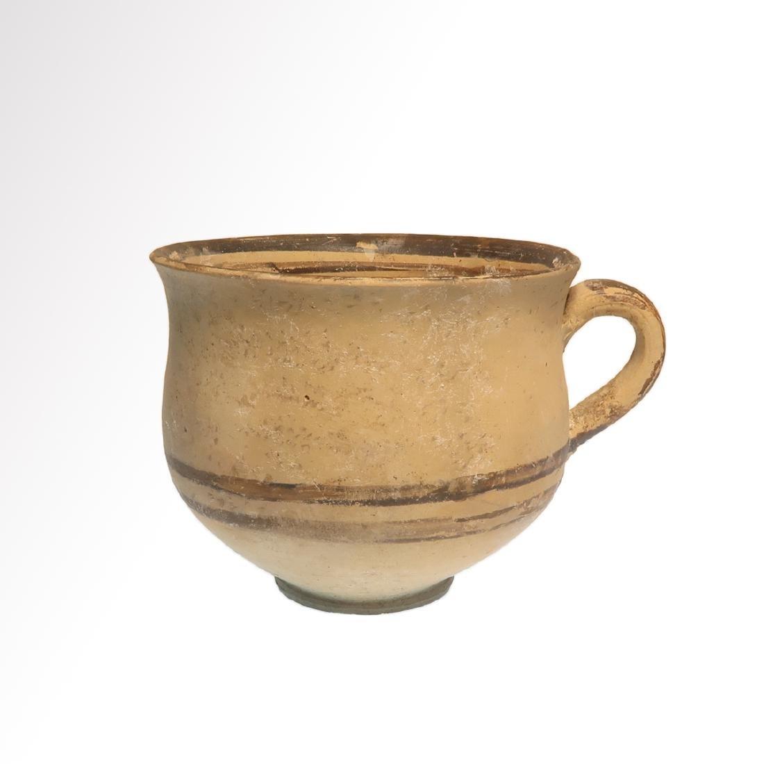 Greek Daunian Cup, c. 4th century B.C.