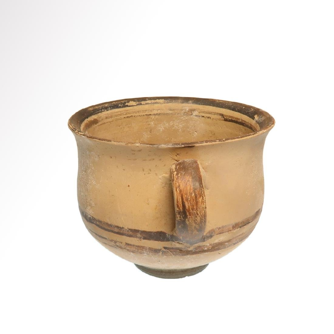 Greek Daunian Cup, c. 4th century B.C. - 4