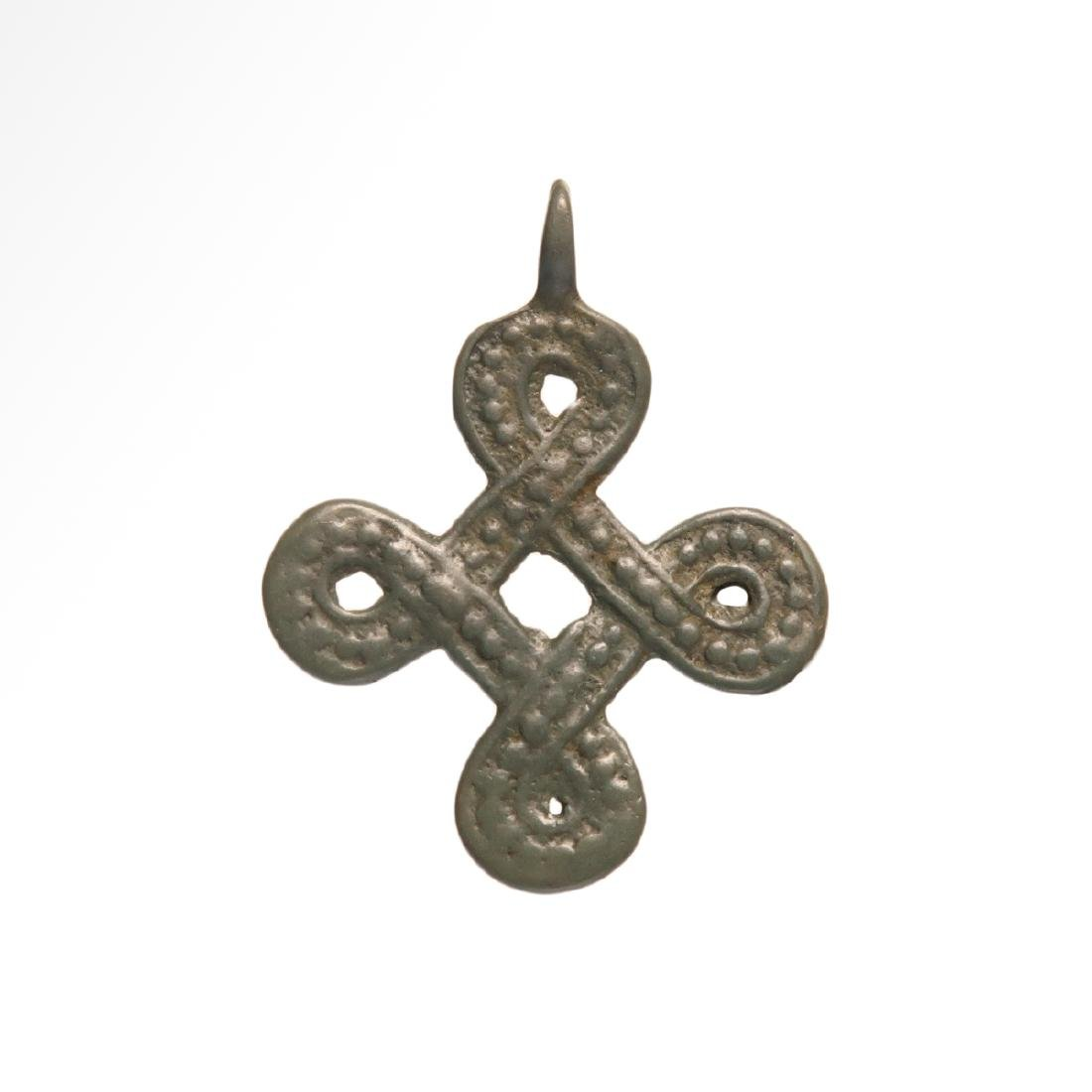 Viking Interlace Cross Pendant, 9th-11th century AD.
