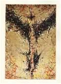 Jaroslaw Serpan original etching for Paroles Peintes