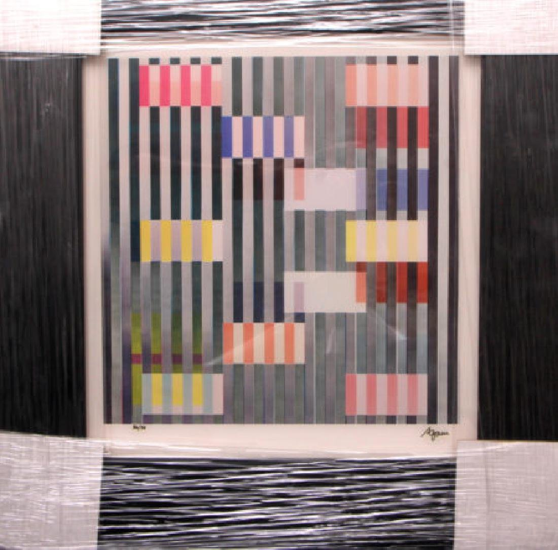 """""""Color and Space"""" by Yaacov Agam"""