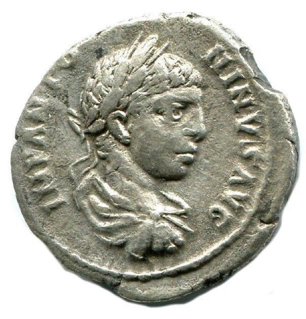 Elagabalus, Antioch, AR denarius SPEI PERPETVAE