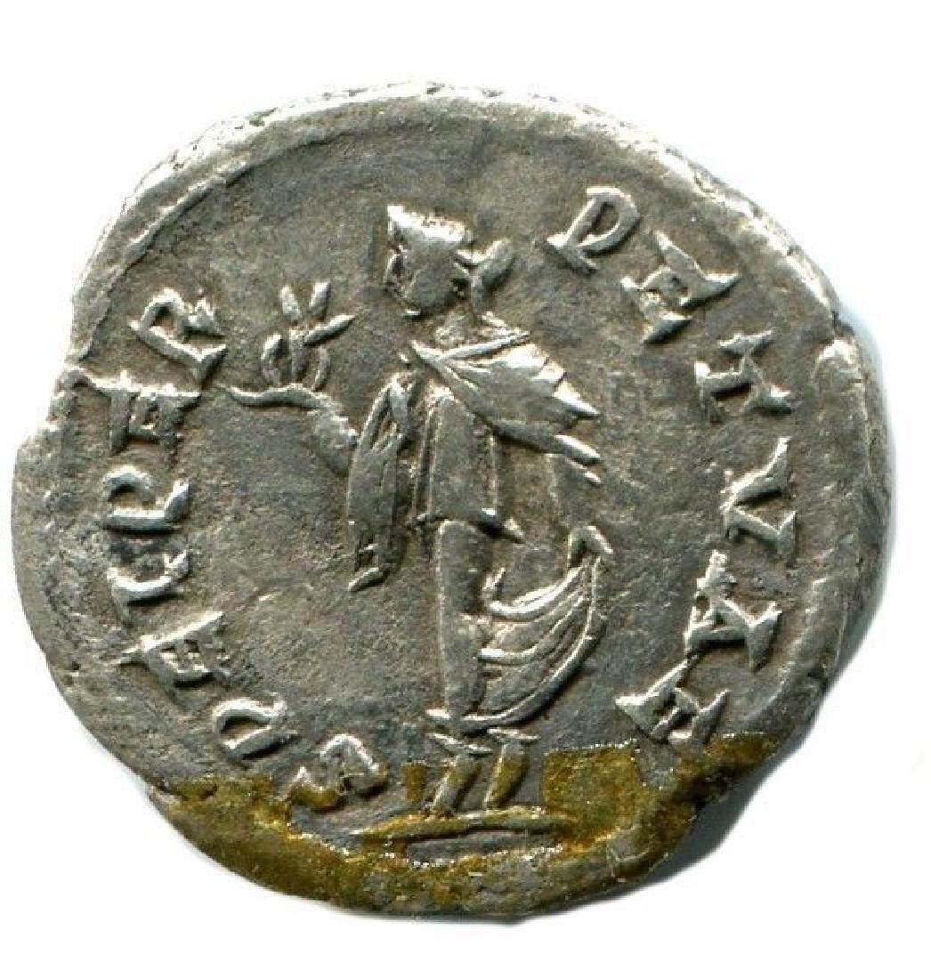 Elagabalus, Antioch, AR denarius SPEI PERPETVAE - 2