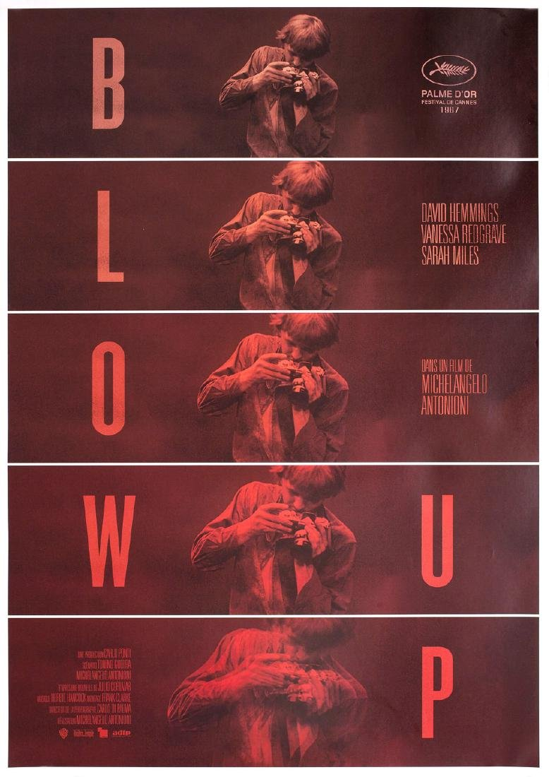 Blow-Up R2015 French Petite Poster