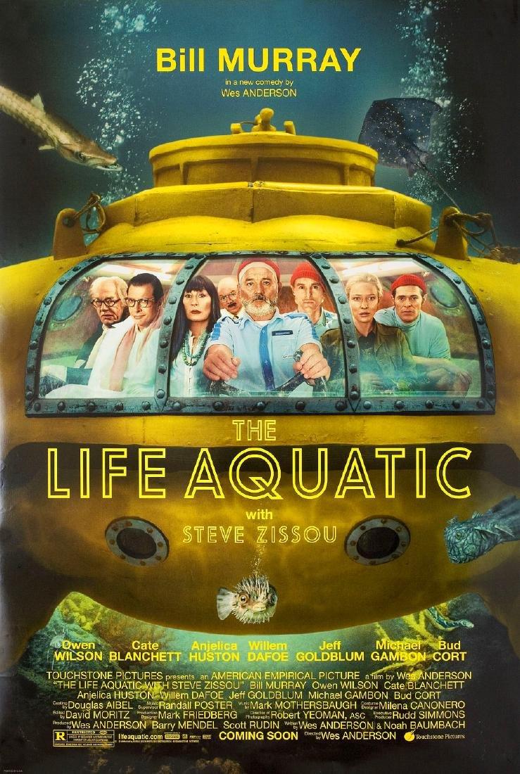 The Life Aquatic with Steve Zissou 2004 U.S. One Sheet
