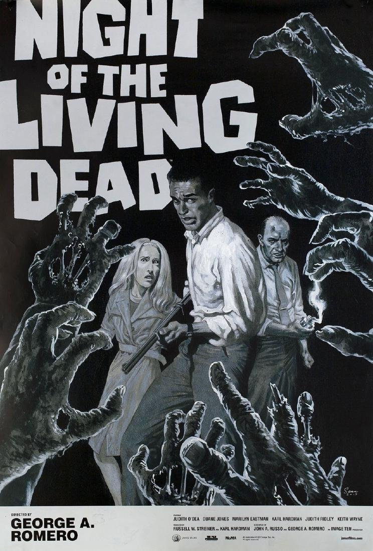 Night of the Living Dead R2017 U.S. One Sheet Poster