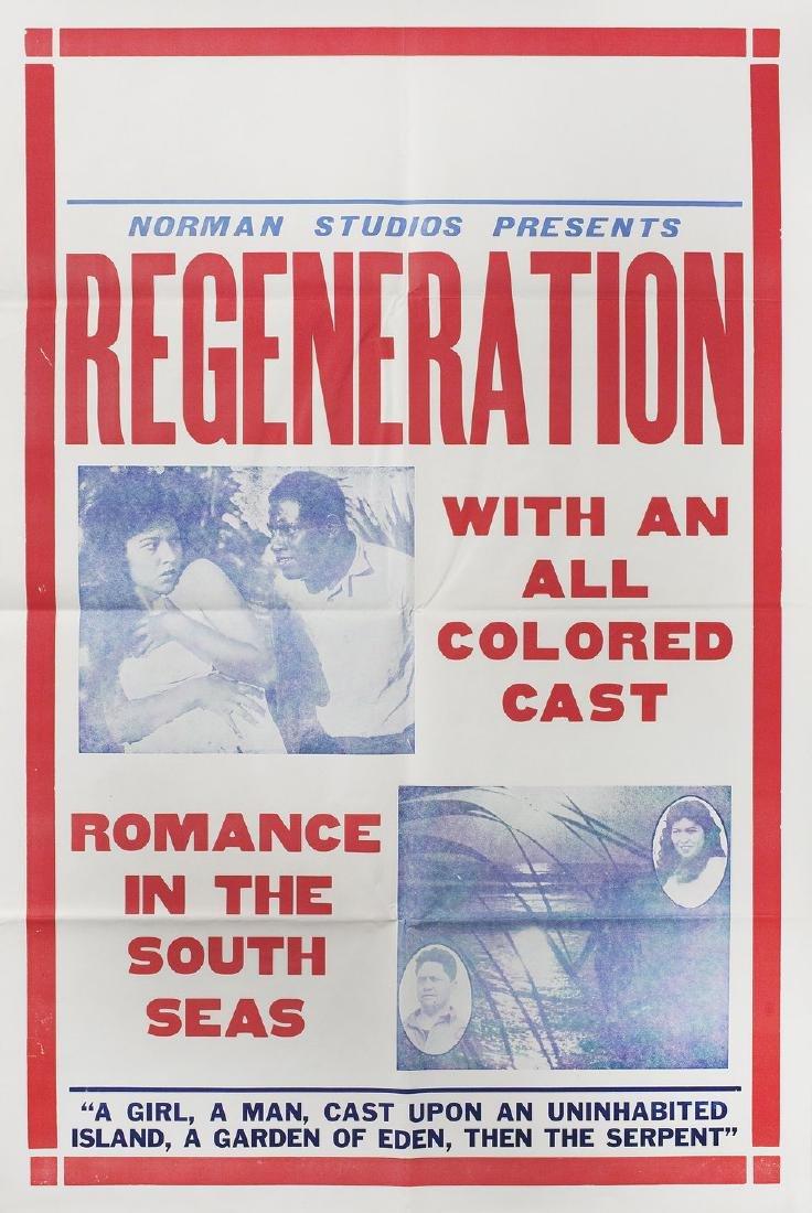 Regeneration 1923 U.S. One Sheet Poster