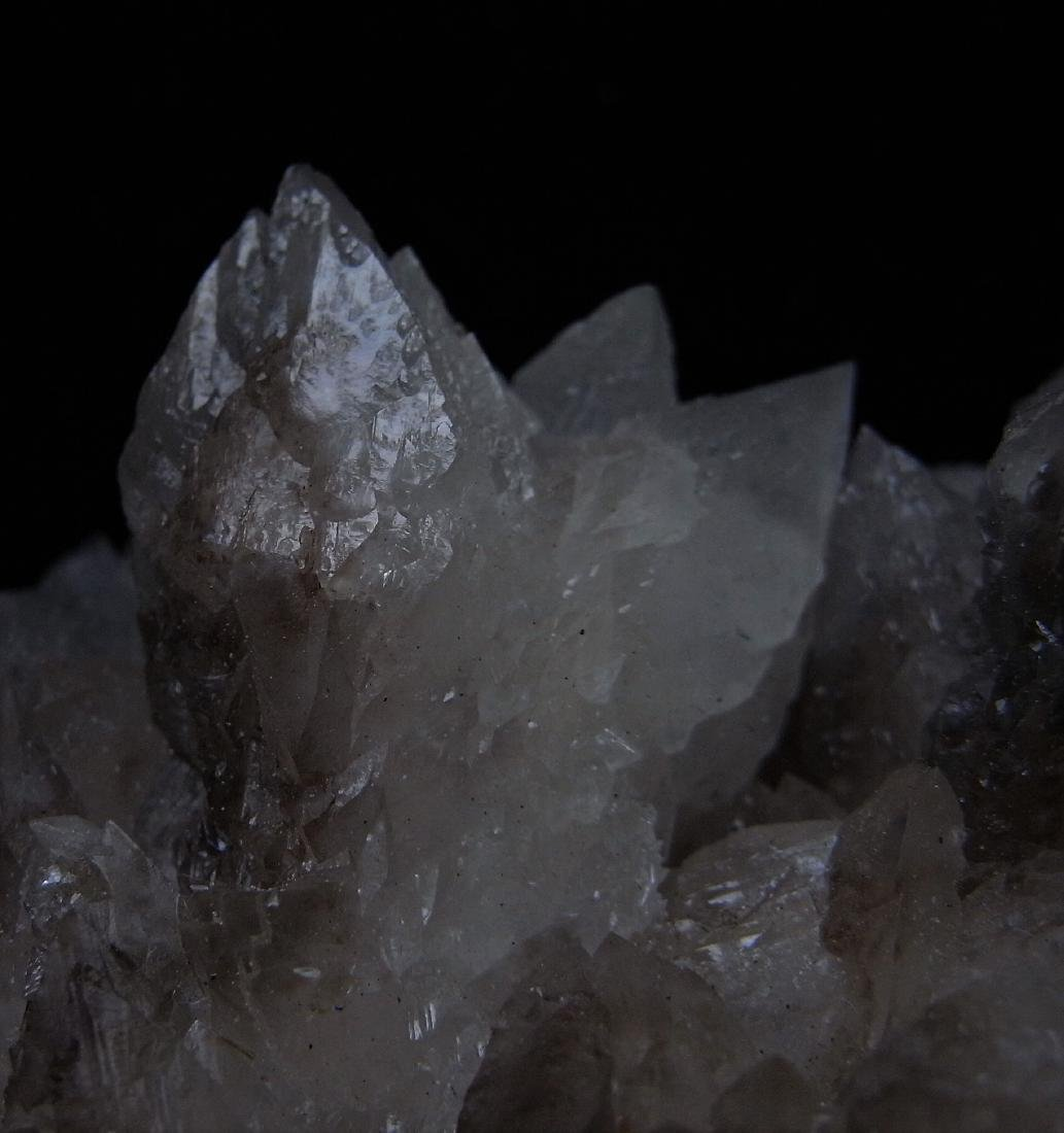 COMPLEX CALCITE CRYSTAL CLUSTER - 5