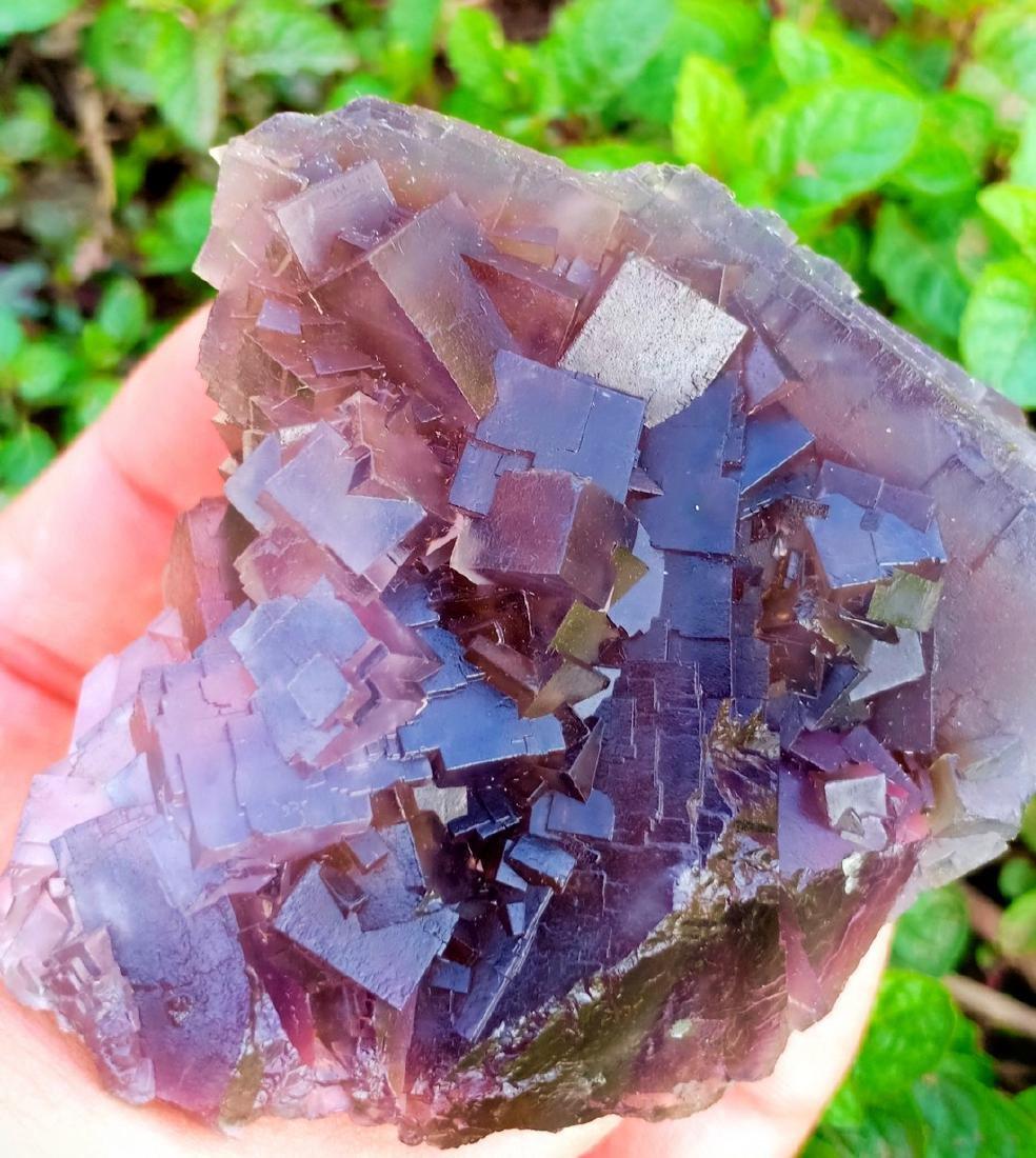 206 Gram Color Change Fluorite Specimen - 3