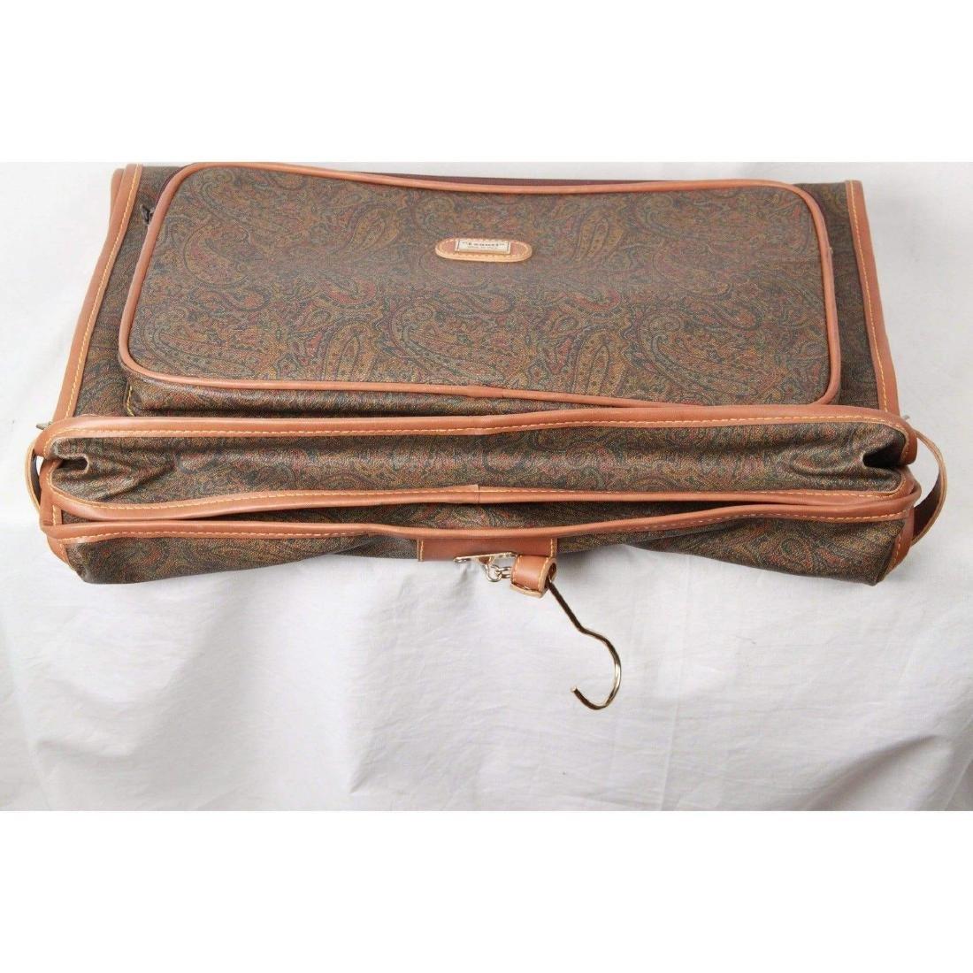 I SANTI Vintage Paisley Canvas GARMENT CARRIER BAG - 2