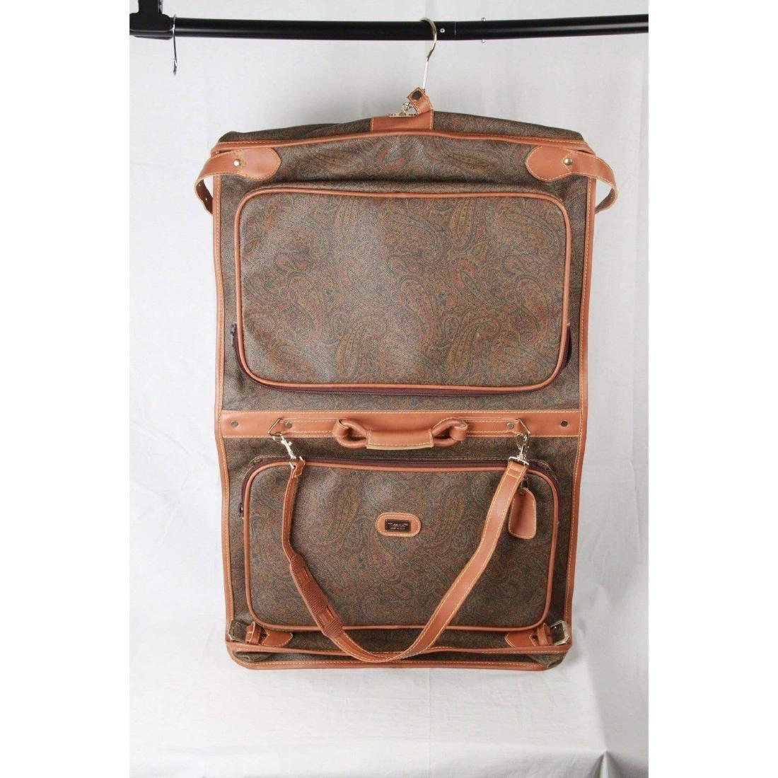I SANTI Vintage Paisley Canvas GARMENT CARRIER BAG - 3
