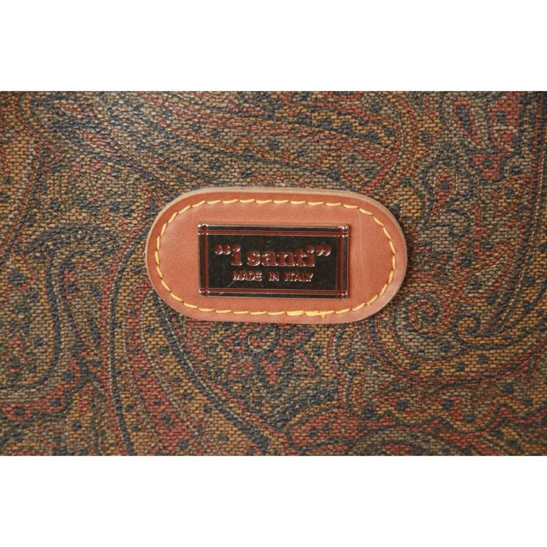 I SANTI Vintage Paisley Canvas GARMENT CARRIER BAG - 4