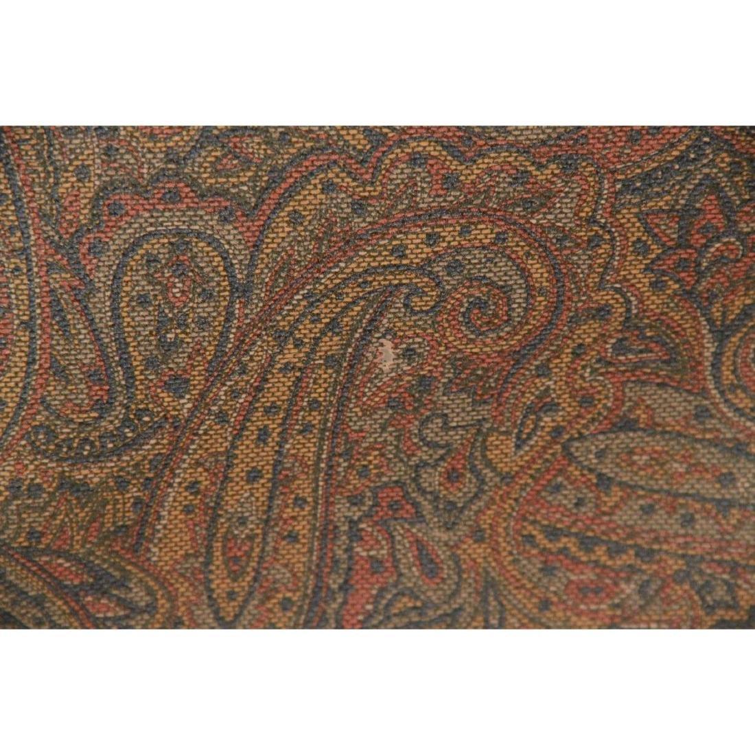 I SANTI Vintage Paisley Canvas GARMENT CARRIER BAG - 5