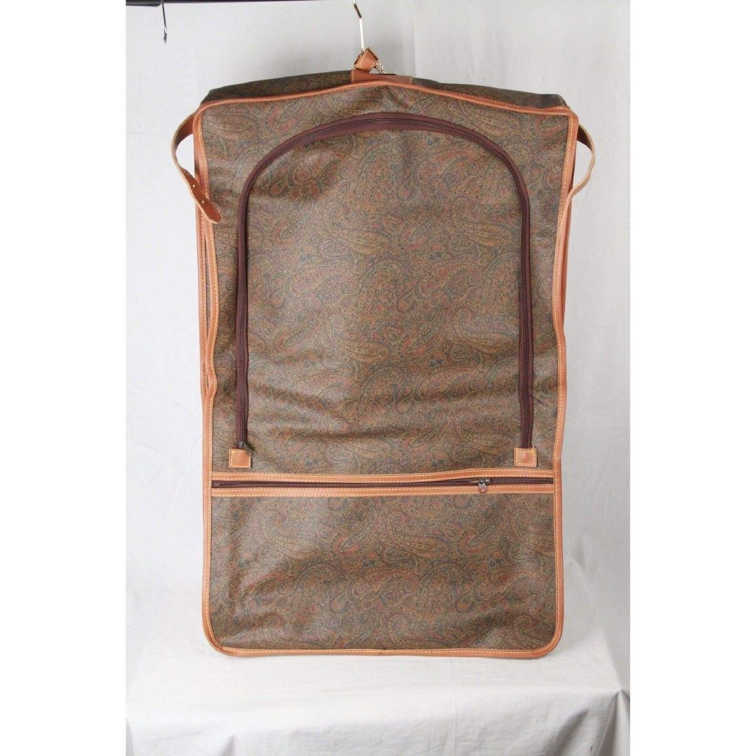 I SANTI Vintage Paisley Canvas GARMENT CARRIER BAG - 6