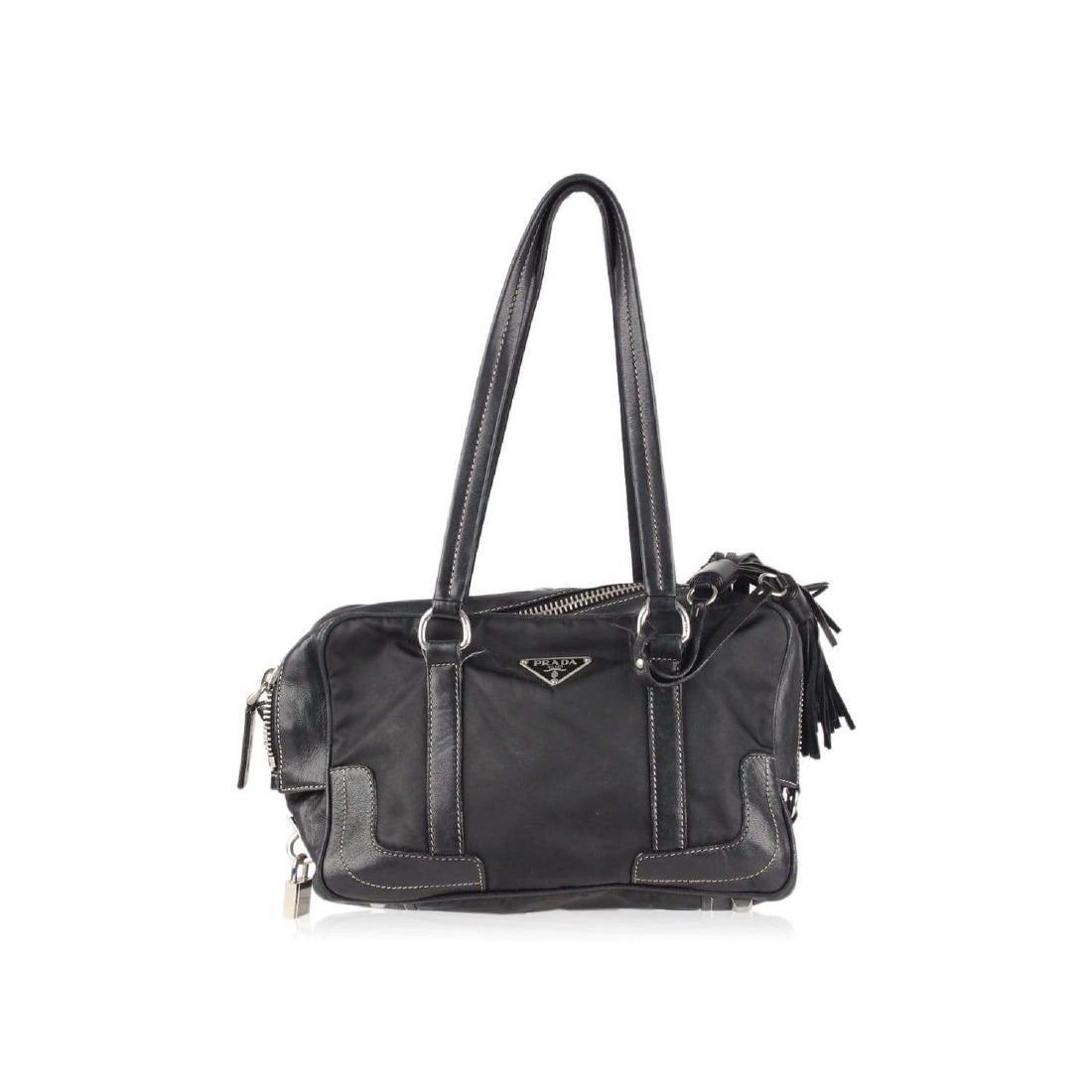 Prada Shoulder Bag with Tassels