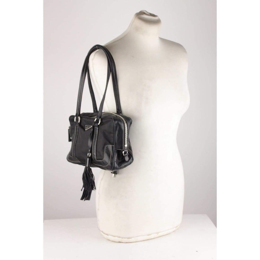 Prada Shoulder Bag with Tassels - 2