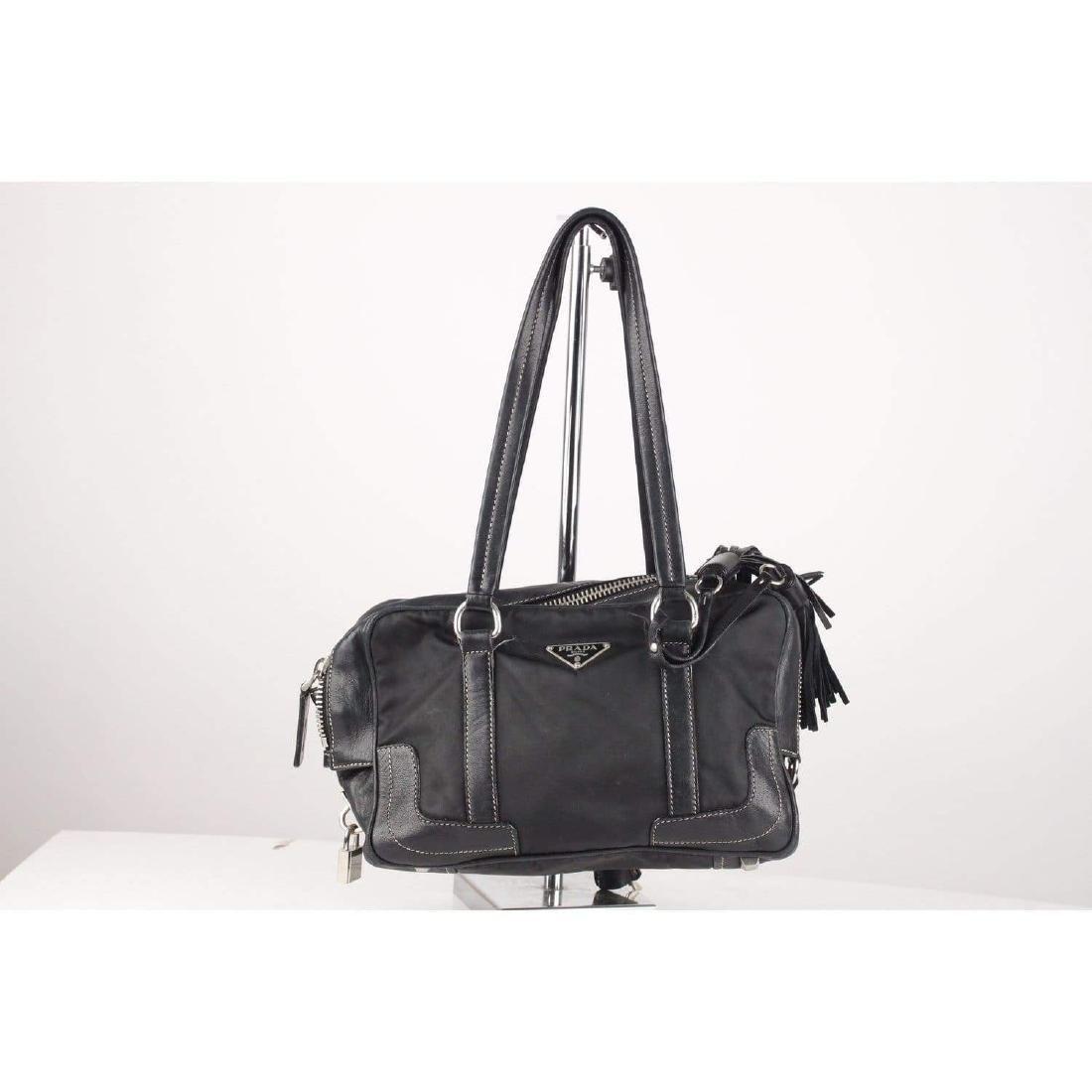 Prada Shoulder Bag with Tassels - 5