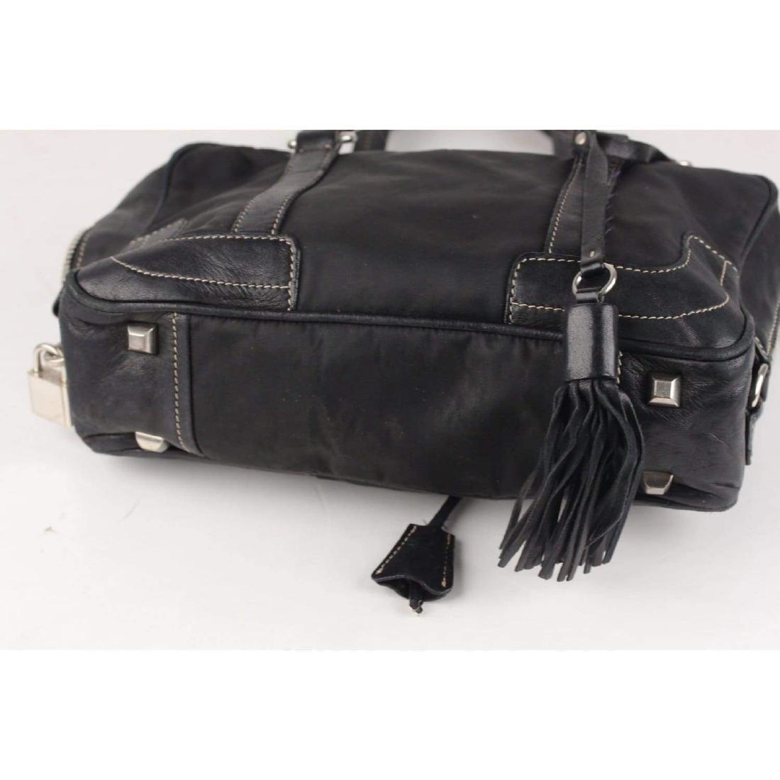 Prada Shoulder Bag with Tassels - 6