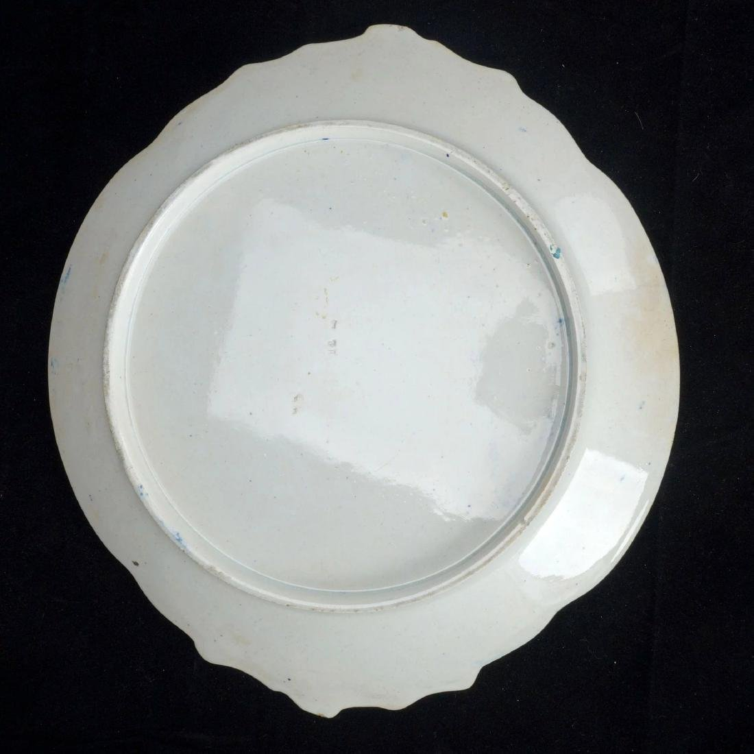 Large Staffordshire Transferware Platter of Churchyard - 2