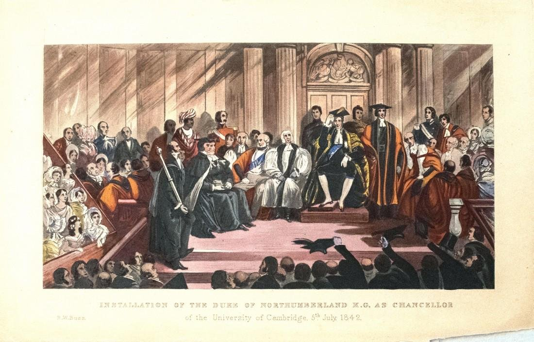 Installation of the Duke of Northumberland K.G. as