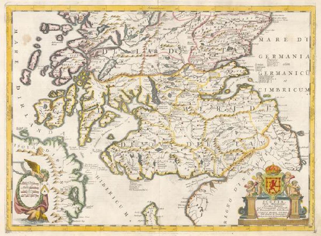 1690 Scotia, Parte Meridionale, Descritta, e Dedicata
