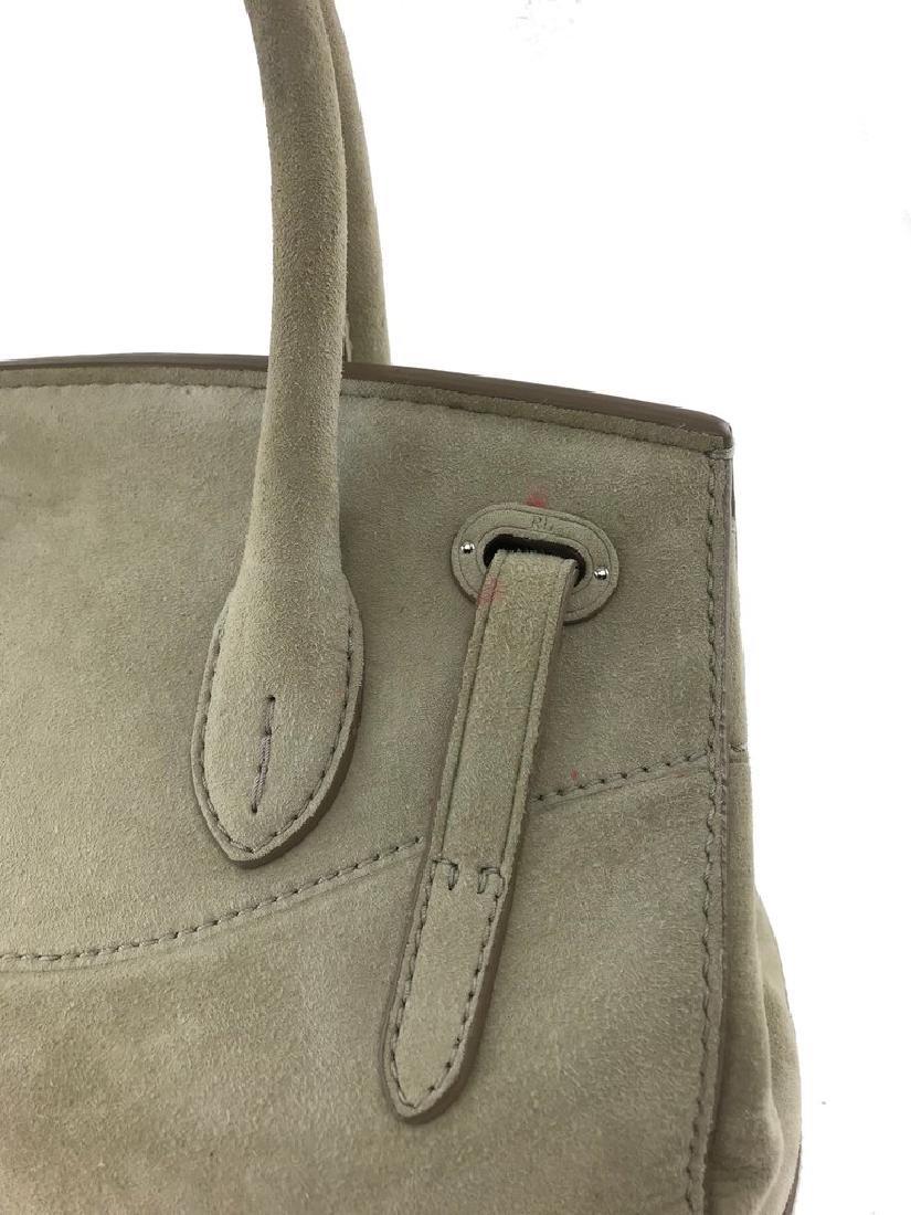 Ralph Lauren Suede Ricky 27 Bag - 3
