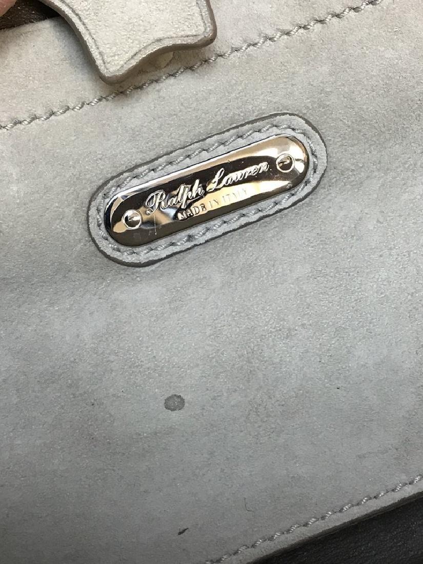 Ralph Lauren Suede Ricky 27 Bag - 5