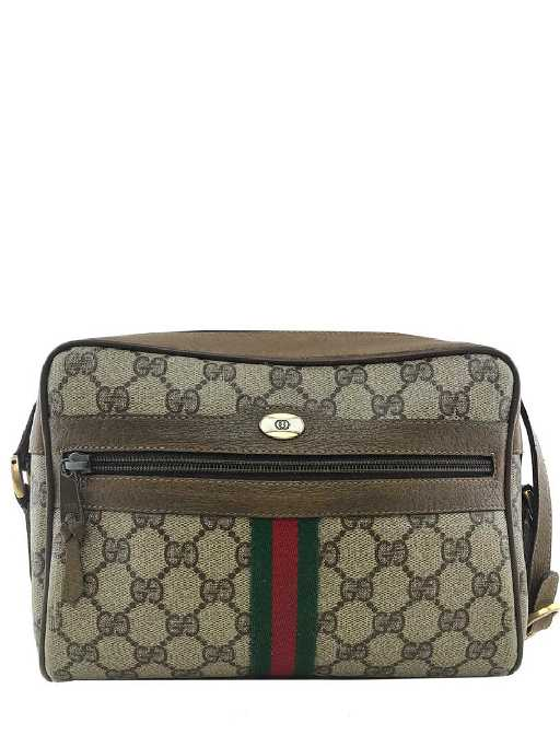 542d48d903eea7 Gucci Monogram Web Camera Crossbody Bag. placeholder. See Sold Price