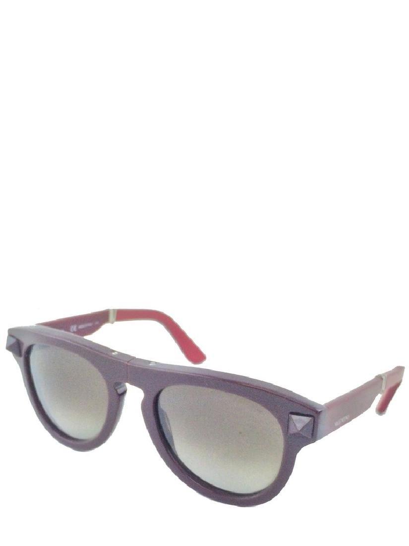 Valentino Rockstud Folding V704S Sunglasses