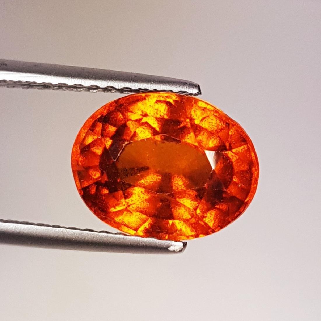 3.64 ct AAA Gem Natural Hessonite Garnet - 2