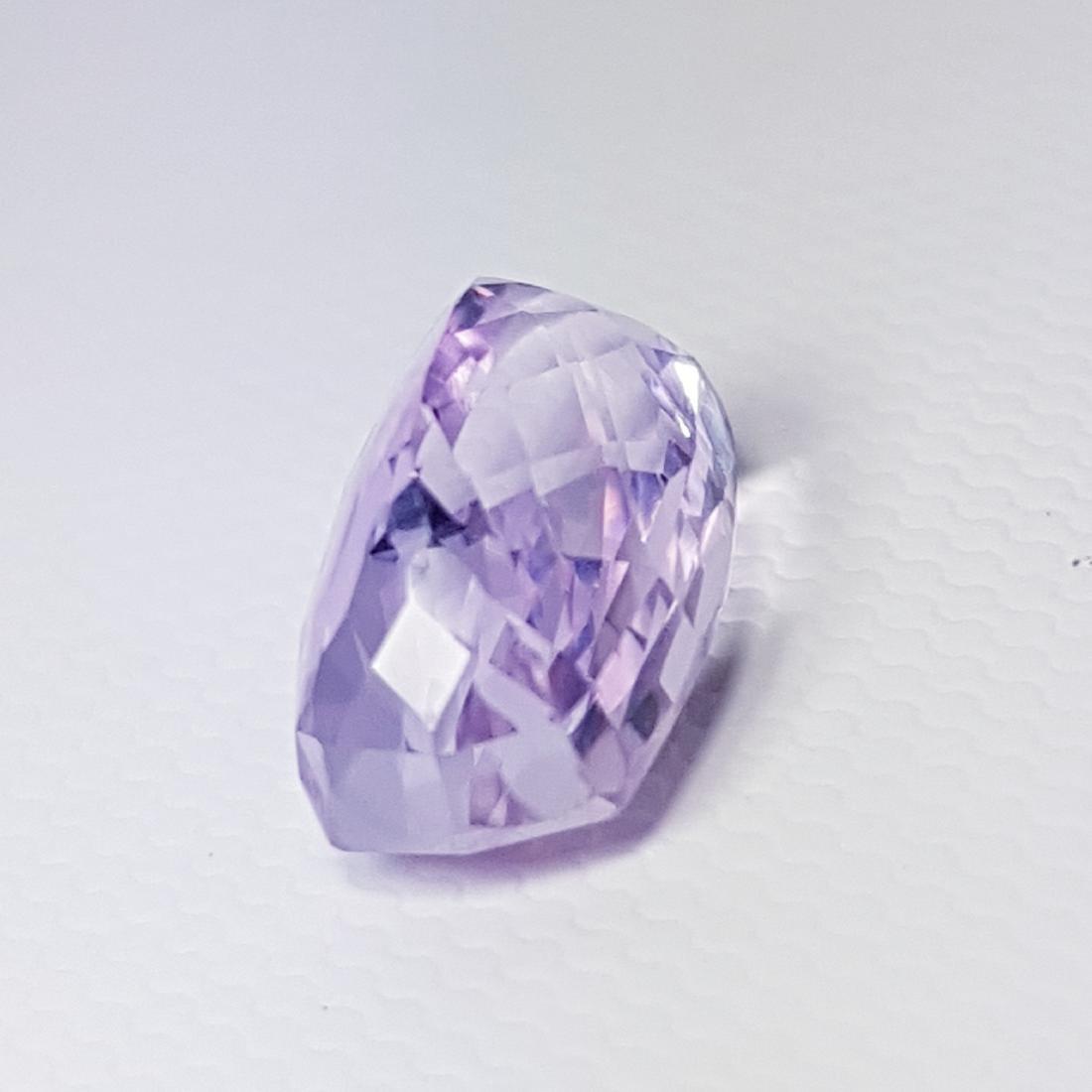 5.71 ct Collector Gem Natural Pink Kunzite - 4