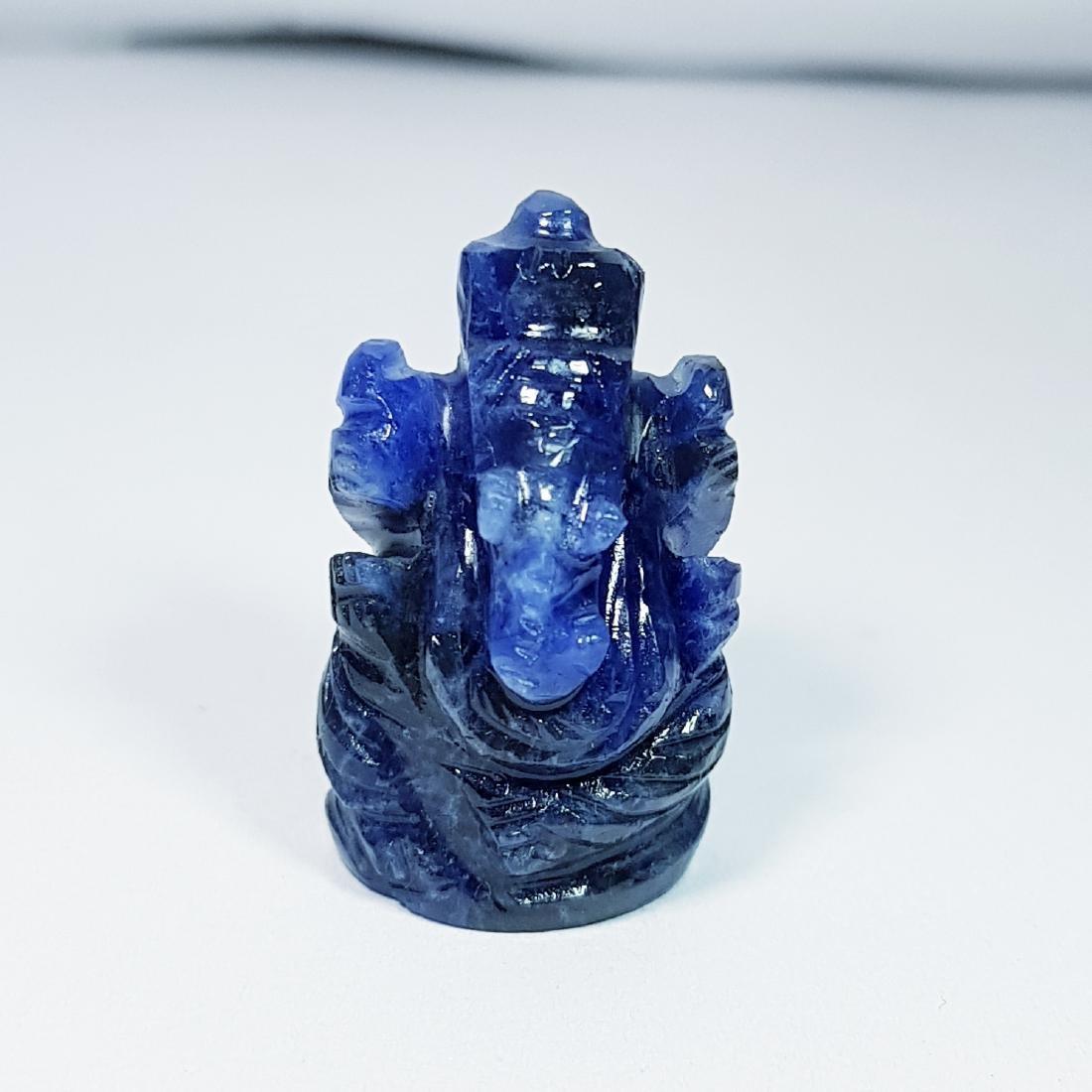 30.24 ct Sodalite Lord Ganesha Carving