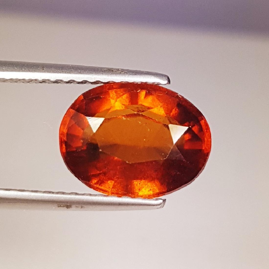 3.24 ct AAA Gem Natural Hessonite Garnet