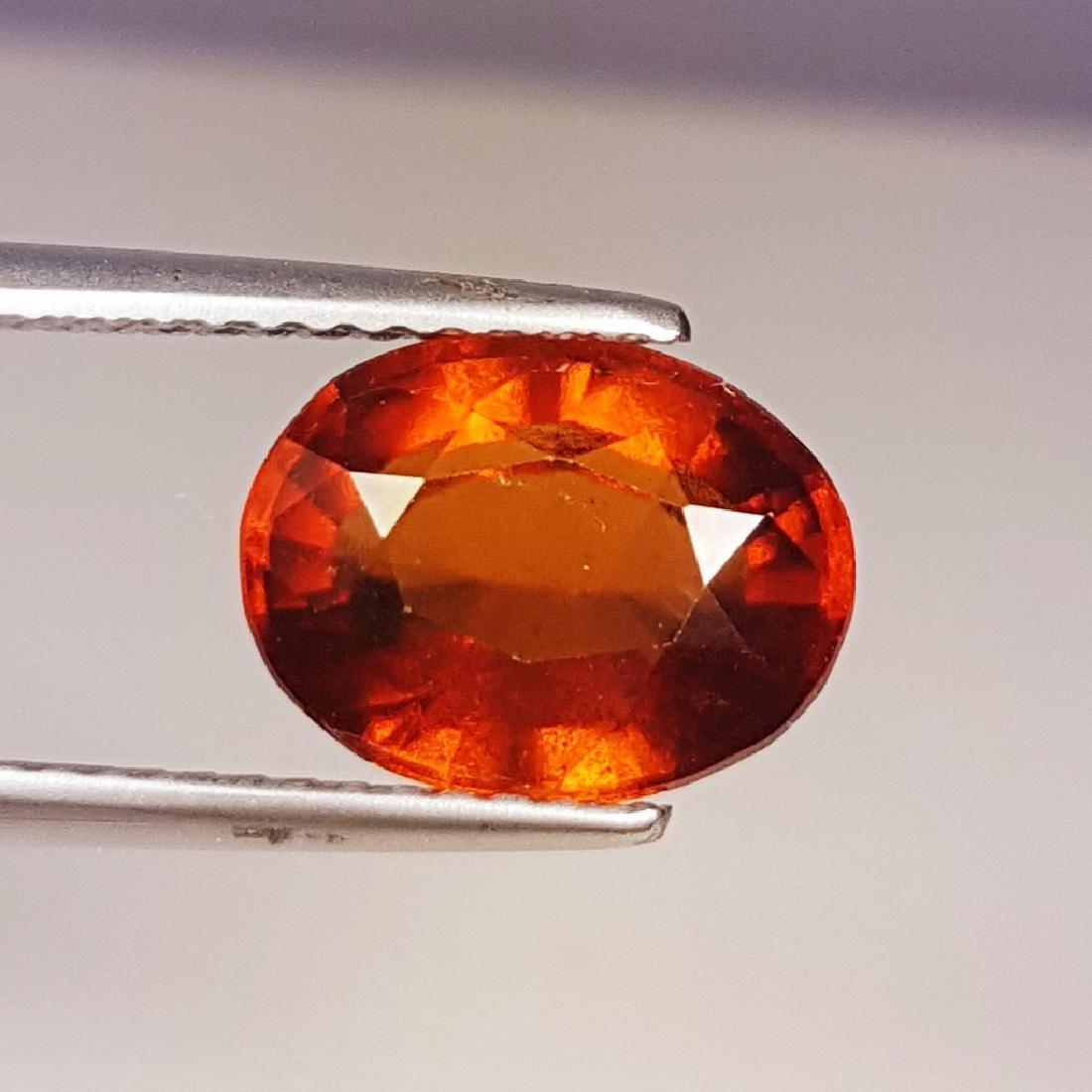 3.24 ct AAA Gem Natural Hessonite Garnet - 2
