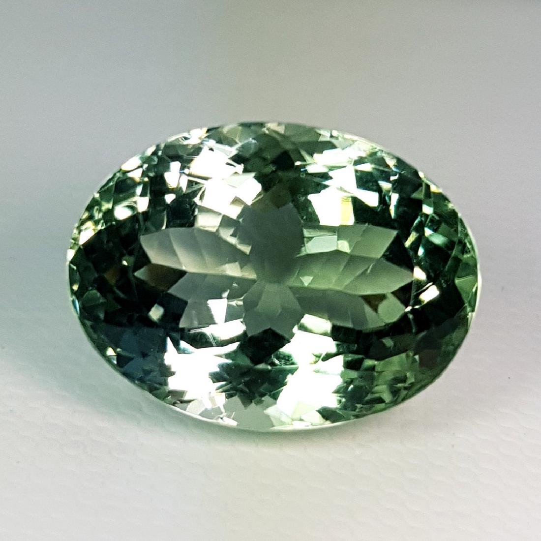 19.30 ct Top Luster Natural Green Amethyst - 2