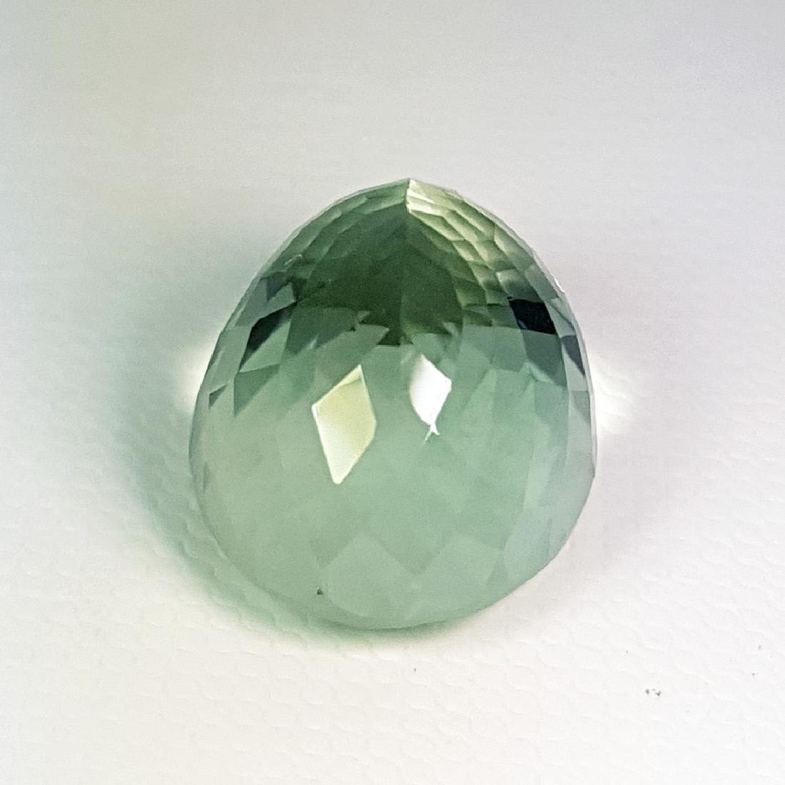 19.30 ct Top Luster Natural Green Amethyst - 3