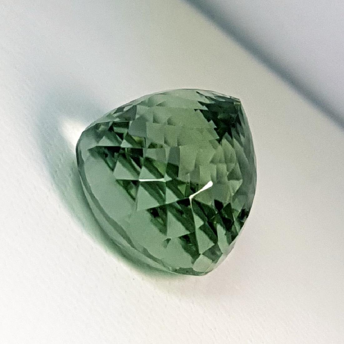 19.30 ct Top Luster Natural Green Amethyst - 4