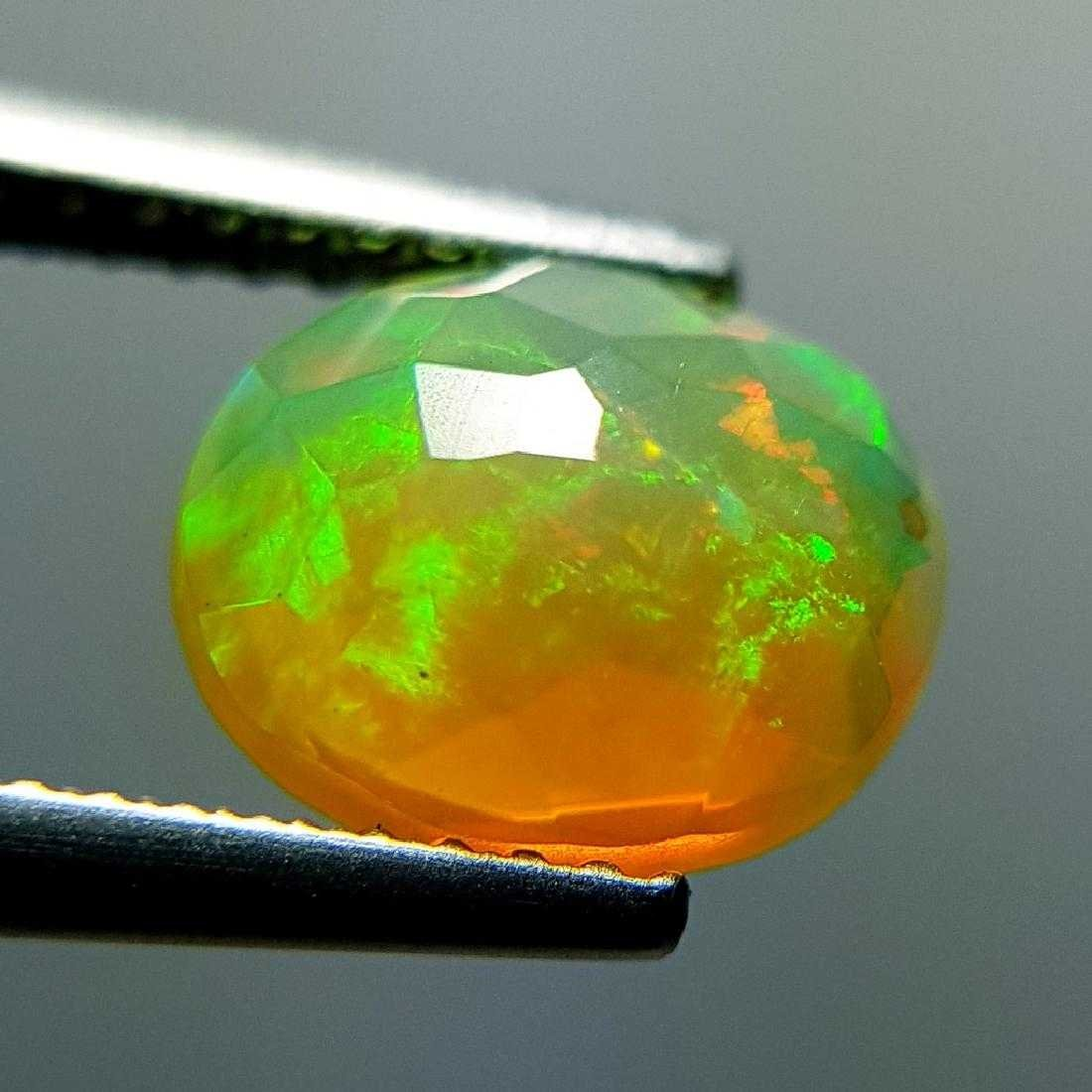 1.31 ct Awesome Fire Oval Cut Natural Opal - 2